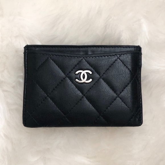 best sneakers 8254d f97a3 🖤 CHANEL Authentic Classic Card Holder Wallet